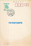 159872 JAPAN NIPPON BIRD CANCEL POSTAL STATIONERY POSTCARD - Sin Clasificación
