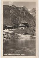 Post Card :  Dom V Kamniski Bistrici   (Slovenia)     1950 ? Stamps - Slovenia