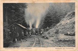 Vogesen-Vosges-Donon-Praye-Moussey-Waldbahn-Feldbahn-Bahnhof-Train-Voie Etroite-30 Regiment Division-Krieg-14/18 - Otros Municipios