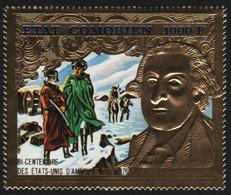 Komoren 1976 - Mi-Nr. 264 A ** - MNH - Gold - 200 Jahre USA - Komoren (1975-...)