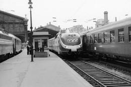 Paris-Nord; Rame TEE VT 11.5 De La DB. Cliché Jacques Bazin. 20-05-1966 - Trenes