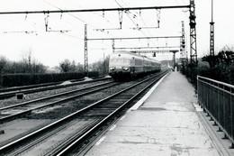 "Brunoy. Rame RAe CFF. TEE ""Le Cisalpin"" Paris - Milan. Cliché Jacques Bazin. 12-1965 - Trains"