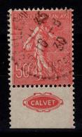 Publicite - YV 199 Oblitere Avec Pub Calvet Au Sud - Reclame