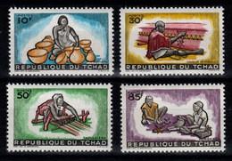 Tchad - YV 94 à 97 N** Complete , Artisanat - Ciad (1960-...)
