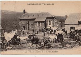CPA 15) L'Auvergne Cantal - Chapelle De Notre Dame De Vassivières - TBE ANIMEE--  CIRCULEE 31/6/23 - Other Municipalities