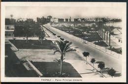 °°° 27347 - LIBYA - TRIPOLI - PARCO PRINCIPE UMBERTO - 1937 With Stamps °°° - Libya