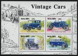 Malawi 1990 - Mi-Nr. Block 69 ** - MNH - Autos / Cars - Malawi (1964-...)
