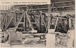 SAINT-ETIENNE En COGLES Atelier De Sciage Du Granit NON  CIRCULEE - Other