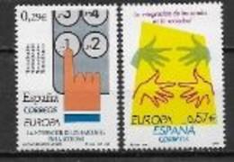 Espagne 2006 N° 3861/3862 Neufs Europa L'intégration - 2006