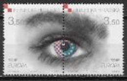 Croatie 2006 N° 727/728 Neufs Europa L'intégration - 2006