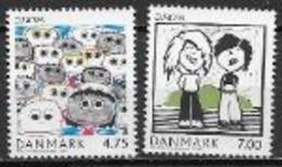 Danemark 2006 N° 1447/1448 Neufs Europa L'intégration - 2006