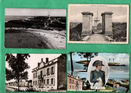 17 Charente Maritime Ile D' Aix Lot De 4 Cartes Postales ( Format 9cm X 14cm ) - Autres Communes