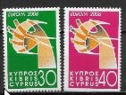 Chypre 2006 N° 1085/1086 Neufs Europa L'intégration - 2006