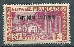 Inini YT N°25 Hotel Du Gouvernement à Cayenne Surchargé Territoire De L'Inini Neuf ** - Ungebraucht