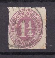 Schleswig-Holstein - 1865/67 - Michel Nr. 14 K1 - Gestempelt - 30 Euro - Schleswig-Holstein
