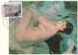 CM Netherlands Carte Maximum Maximum Card Auguste Renoir  Nude - Nudes