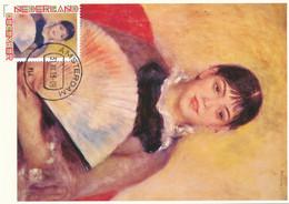 CM Netherlands Carte Maximum Maximum Card Auguste Renoir - Nudes