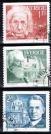 SUEDE / Oblitérés 1er Jour/Used FDC/1981 - Laureats Prix Nobel 1921 - Oblitérés