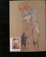 CM Carte Maximum  Maximum Card Toulouse Lautrec  Frau Nude - Nudes