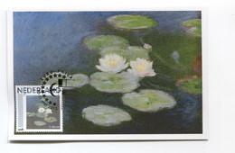 Claude Monet Maximum Card CM Maximumkarte Carte Maximum Netherlands - Impressionisme