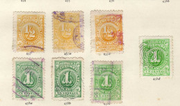 Colombie (1904) -  Chiffres - Obliteres - Colombie