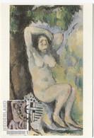 PAUL CÉZANNE MAXIMUM CARD CARTE MAXIMUM KAART  NETHERLANDS  Nude - Impressionisme