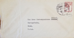 J) 1939 MEXICO, CUAUHTEMOC MONUMENT, AIRMAIL, CIRCULATED COVER, FROM MONTERREY TO USA - Mexique