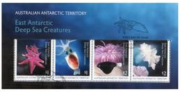 (PP 9) Australia - Mini-Sheet Cancelled - East Antarctic Deep See Creatures (AAT) - Usados