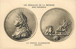 """CPA MONNAIE """" La Marine Florissante ( Mauger)"""" - Coins (pictures)"""
