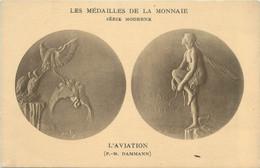 "CPA MONNAIE "" L'aviation"" - Coins (pictures)"