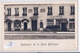 PARIS VIII- ROTISSERIE DE LA REINE PEDAUQUE- RUE DE LA PEPINIERE - Cafés, Hotels, Restaurants