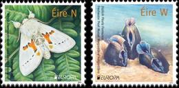 Ireland .2021.Europa CEPT.Endangered National Wildlife.2 V. ** . - 2020