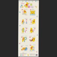 (ja860) Japan 2017 Winnie Pooh Disney 82y MNH - Unused Stamps