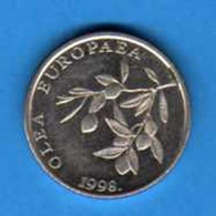 CROAZIA CROATIA KROATIEN CROATIE HRVATSKA - 1998 - 20 LIPA - KM 17 AUNC - Croatia