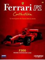 § FERRARI F1 Collection # 45 - F300 - 1998 - M.Schumacher - Booklet Fascicolo - Motori