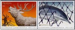 Greece.2021.Europa CEPT.Endangered National Wildlife.2 V. ** . - 2020