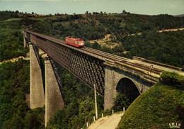 TRAIN Sur Me Viaduc Des FADES  RV - Sonstige Gemeinden