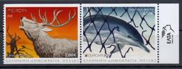 Greece.2021.Europa CEPT.Endangered National Wildlife.2 V. (from Booklet) ** . - 2020