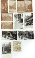 Lot De 12 Photographies Sur Papier Petit Format - Beaune (21) - Années 1930-31 - Luoghi