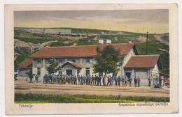 TRBOVLJE, Kopalnica Zapadnega Okrozja, Mine, Slovenia, Foto Pelikan Vintage Old Postcard - Slovenia