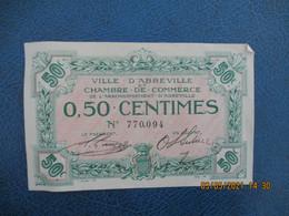 Ville Abbeville Chambre De Commerce Billet Necessite 0.5 C - Cámara De Comercio