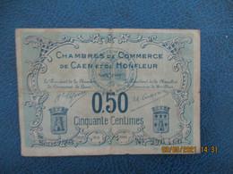 Caen Honfleur Chambre De Commerce Billet Necessite 0.25 C - Handelskammer