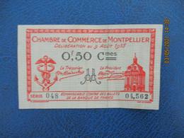 Montpellier  Chambre De Commerce  Billet De Necessite   0.50 - Cámara De Comercio