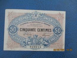 Roanne Chambre De Commerce  Billet De Necessite   5 0.c - Handelskammer