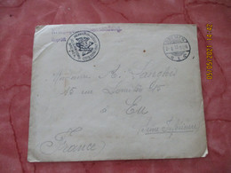 Bremen Camp Prisonniers Kriegsgefangenensedung F A  Censure Lettre  Guerre 14.18 - 1. Weltkrieg 1914-1918