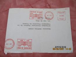 Ema Centenaire Du Senat  Empreinte Machine Affranchir - 1961-....