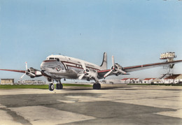 CPA - Douglas DC 4 - Compagnie Air Atlas - Air Maroc - Aéroport De Marseille Marignane - 1946-....: Era Moderna