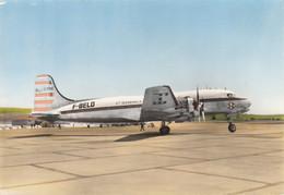 CPA - Douglas DC 4 - Compagnie CGTA Air Algérie - Aéroport De Marseille Marignane - 1946-....: Era Moderna