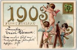 53056756 - 1903 Engel Neujahr - Anno Nuovo