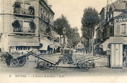 58 - Nevers - L'avenue De La Gare - Nevers
